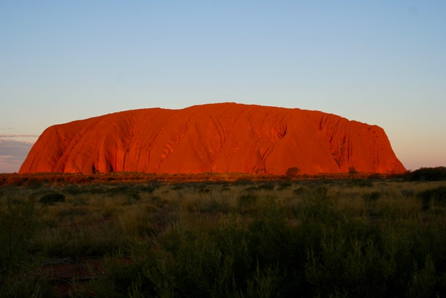 Uluru at sunset (15)
