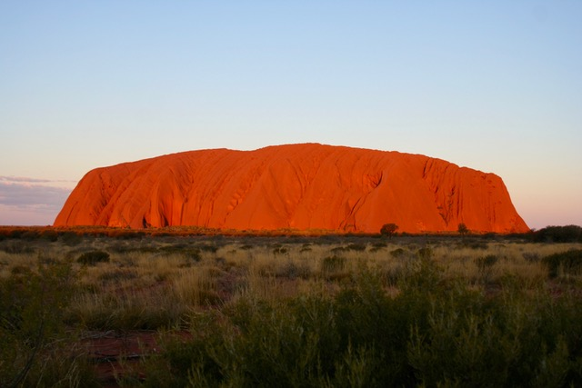 Uluru at sunset (18)