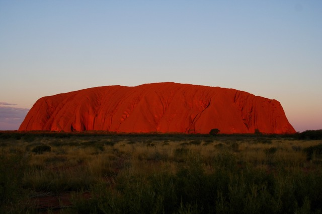 Uluru at sunset (22)