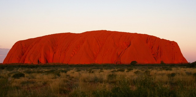 Uluru at sunset (24a)