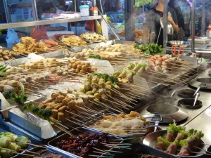 Food stall in Jalan Alor