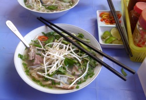 Pho Bo in Saigon