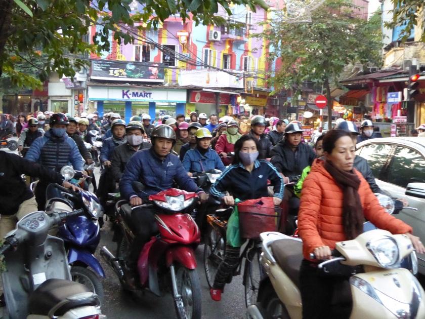 Home time Hanoi!