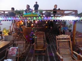 The sunset cruise boat