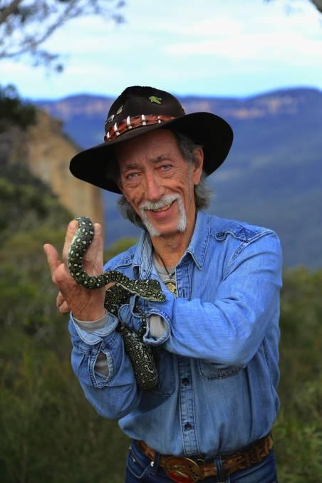 Neville Burns Snake Man