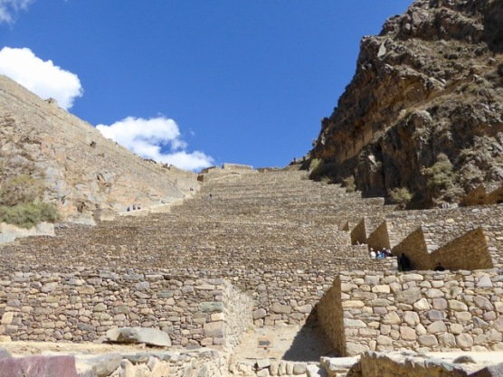 The Inca Terraces