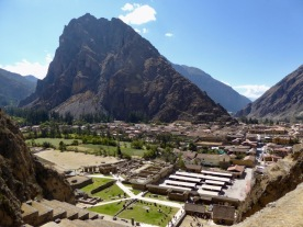 Ollantaytambo from above
